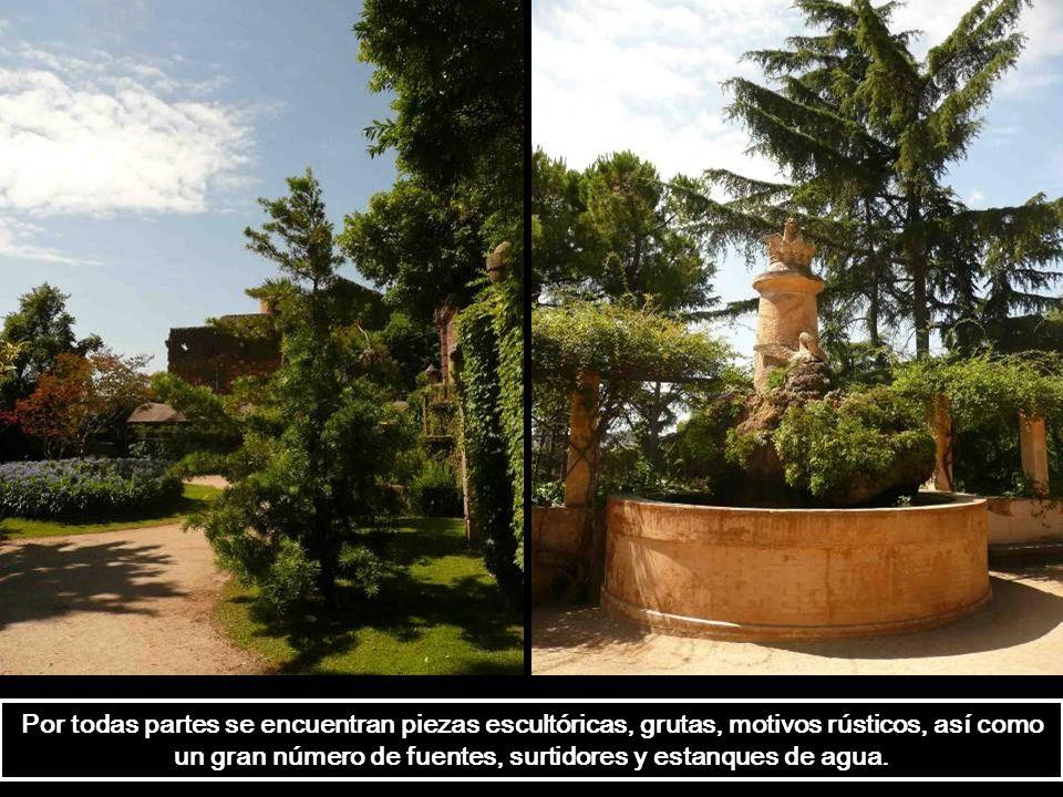 En 1880 se creó un jardín doméstico al lado del palacio Desvalls. A finales del siglo XIX, esta finca se convirtió en el escenario de veladas sociales