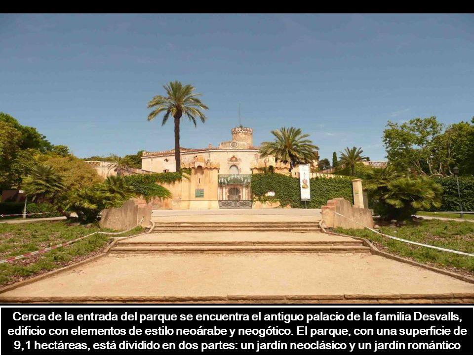 Jardín Romántico, situado a poniente.