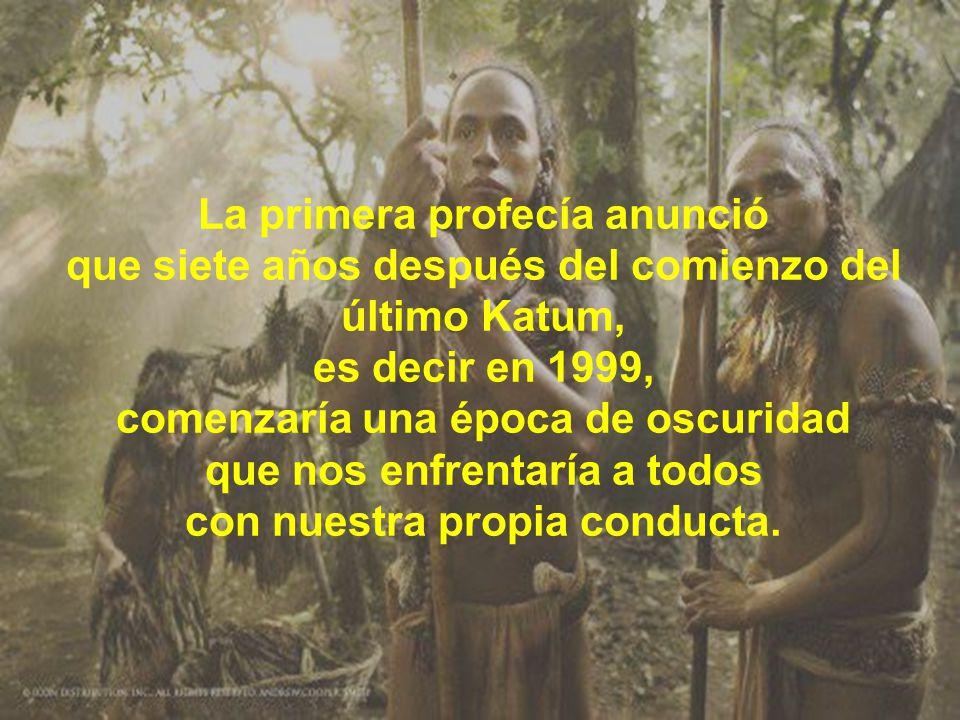 El libro sagrado Maya del Chilam Balam, dice:...