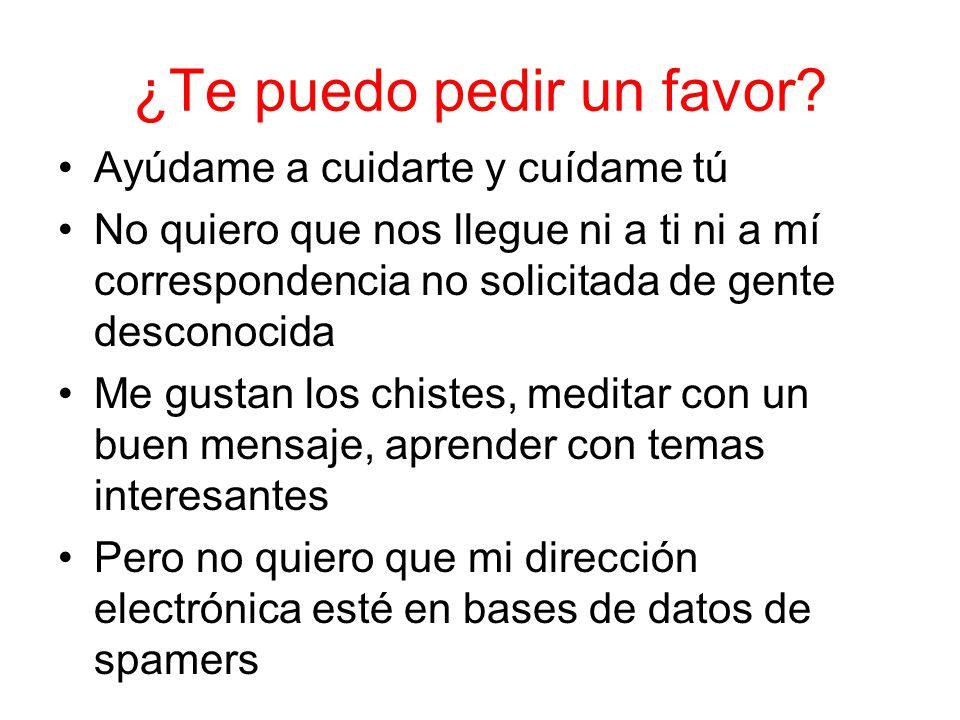 ¿Te puedo pedir un favor.