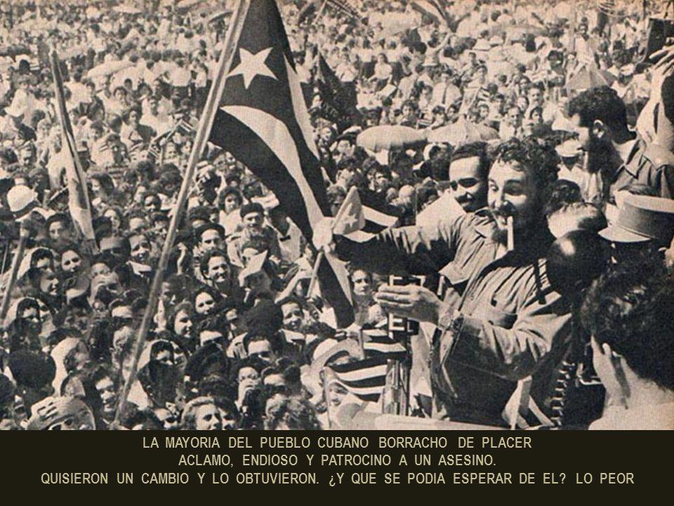 POCO MAS DE UN AÑO DESPUES, EN DICIEMBRE DE 1956, FIDEL CASTRO Y UN GRUPO DE SEGUIDORES VIAJARON A CUBA EN EL GRANMA PARA COMPLETAR SU PLAN: LA DESTRU