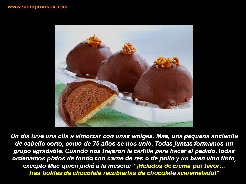 EL CHOCOLATE CANTA Visite: www.siempreokey.com