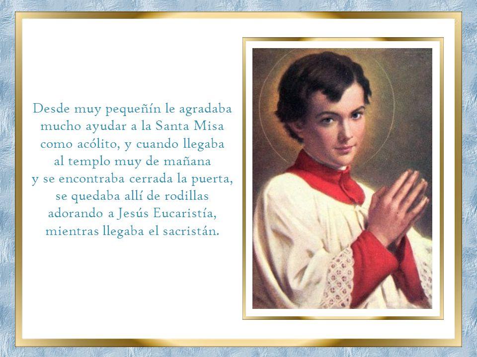 Nació Domingo Savio en Riva de Chieri (Italia) el 2 de abril de 1842. Era el mayor entre cinco hijos de Ángel Savio, un mecánico muy pobre, y de Brígi