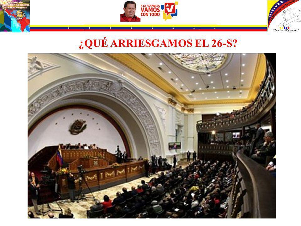 Hay que ganar la Asamblea Nacional con mayoría calificada para poder profundizar los logros alcanzados.