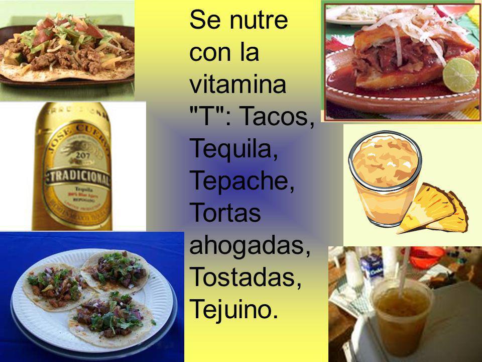 Se nutre con la vitamina