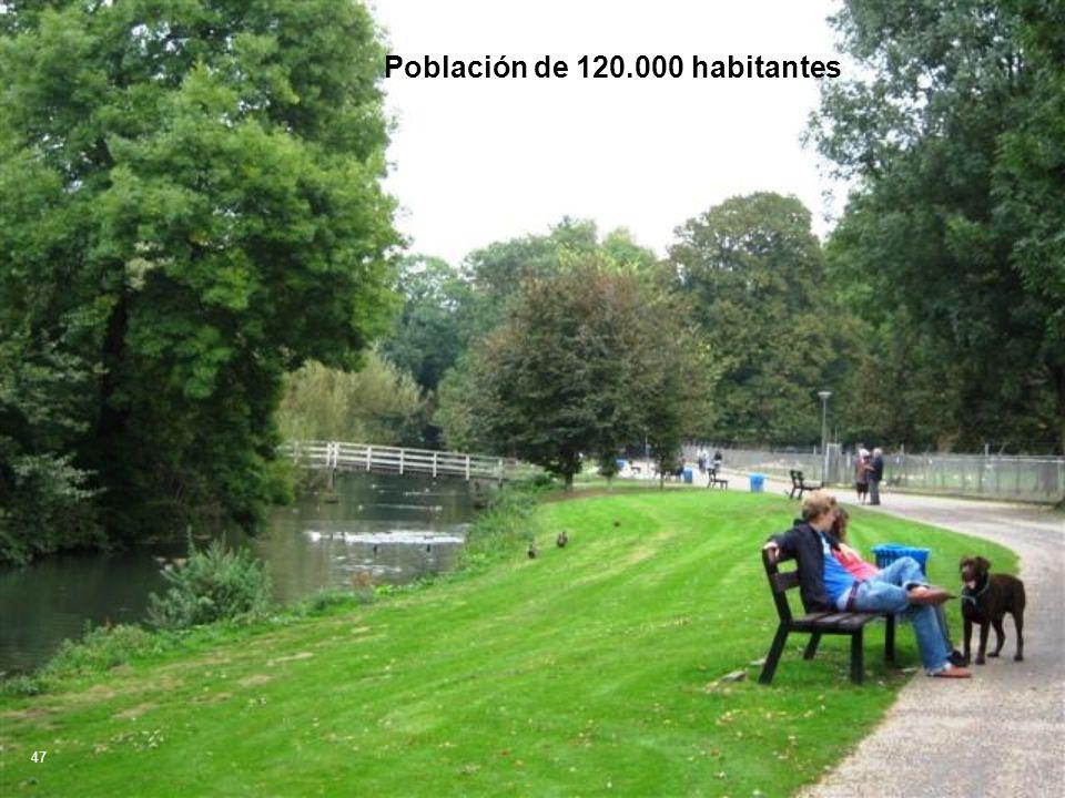 Población de 120.000 habitantes 47