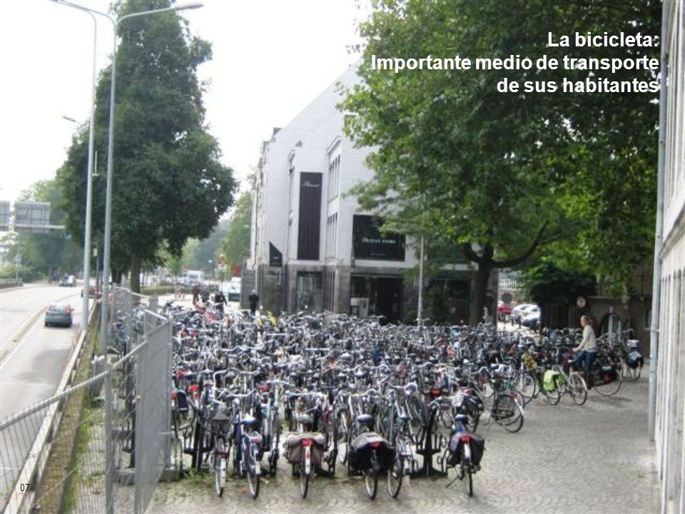 La bicicleta: Importante medio de transporte de sus habitantes 07