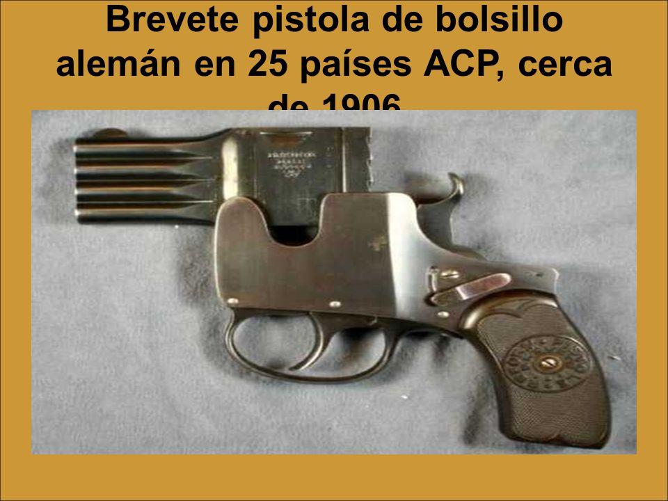 la pistola de James Reid