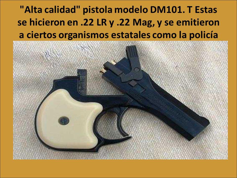 La siguiente es una especie de pistola pepperbox. Estas fueron muy populares en los EE.UU. antes de la introducción del revólver Colt