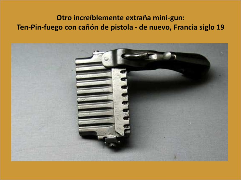 La llave pistola, 1822