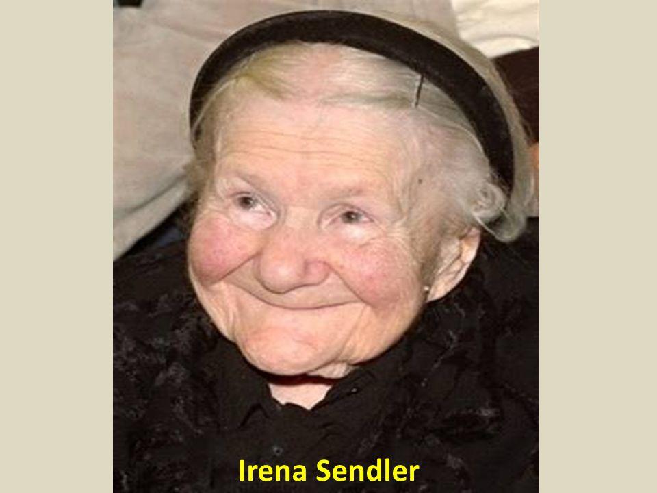 Una señora de 98 años llamada Irena Sendler acaba de fallecer.