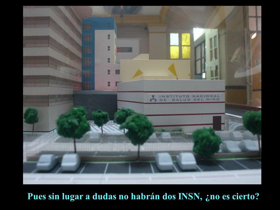 Si este es el nuevo INSN, ¿cómo se llamará en adelante este nuestro local de la avenida Brasil