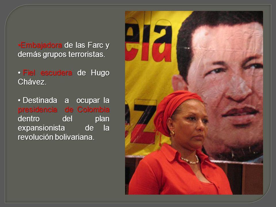 Teniendo acceso al Pacífico, Chávez fácilmente podrá acercar a nuestro continente a la China Comunista, a Corea del Norte, a Libia, A Irán, en fin, a todos los que podrían abastecerlo ilegalmente de armas Y tecnología bélica para su beneficio.