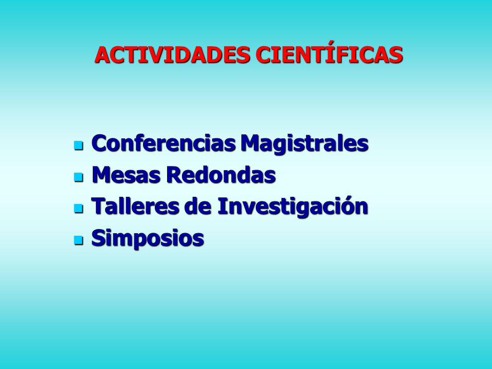 BLOQUES ACADÉMICOS ASMA Y ALERGIAS ASMA Y ALERGIAS INFECTOLOGÍA PEDIÁTRICA INFECTOLOGÍA PEDIÁTRICA PEDIATRÍA AMBULATORIA PEDIATRÍA AMBULATORIA CARDIOLOGÍA PEDIÁTRICA CARDIOLOGÍA PEDIÁTRICA GASTROENTEROLOGÍA PEDIÁTRICA GASTROENTEROLOGÍA PEDIÁTRICA ONCOLOGÍA PEDIÁTRICA ONCOLOGÍA PEDIÁTRICA DIAGNÓSTICO POR IMÁGENES DIAGNÓSTICO POR IMÁGENES PEDIATRÍA BASADA EN EVIDENCIAS PEDIATRÍA BASADA EN EVIDENCIAS DERMATOLOGÍA PEDIÁTRICA DERMATOLOGÍA PEDIÁTRICA MISCELÁNEA MISCELÁNEA TALLERES DE INVESTIGACIÓN CLÍNICA TALLERES DE INVESTIGACIÓN CLÍNICA