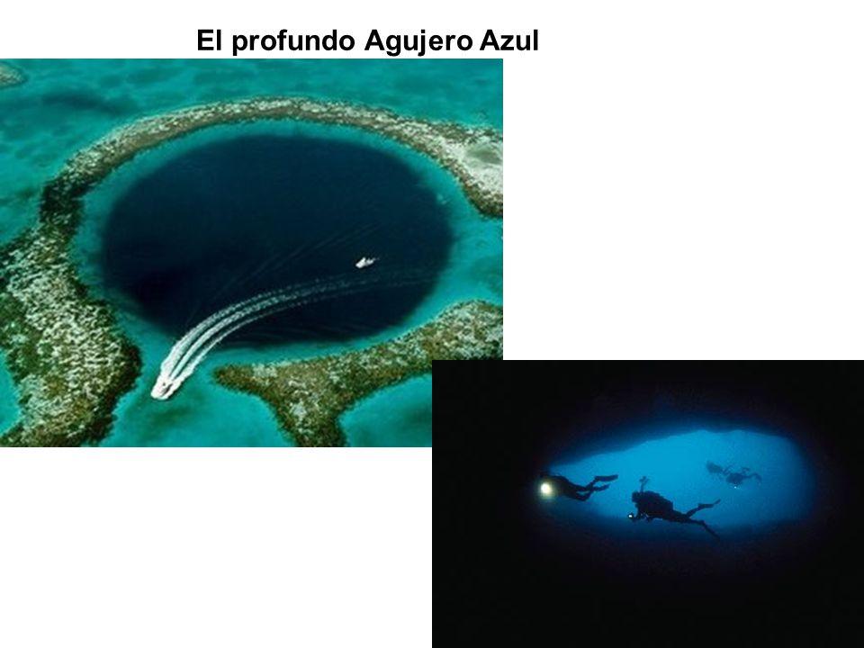 El profundo Agujero Azul