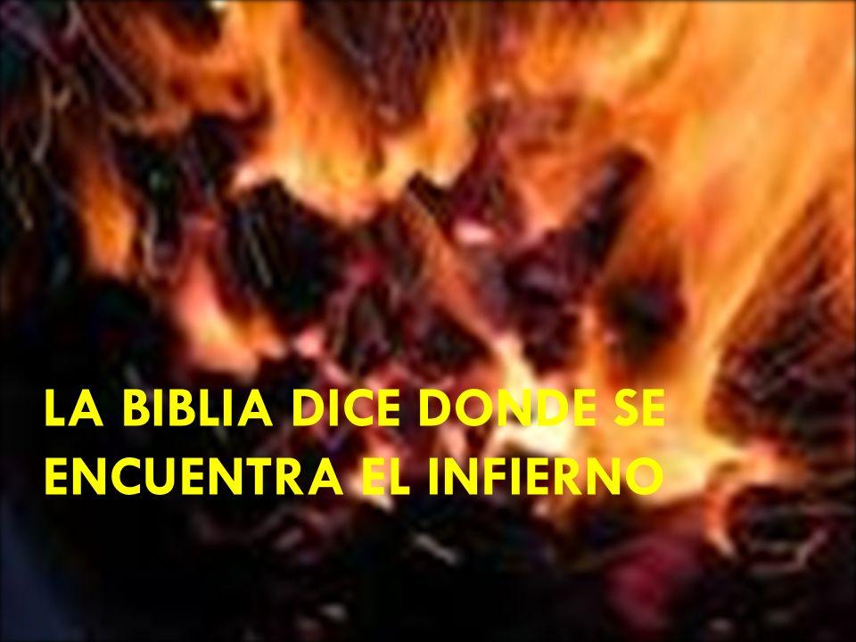 Apocalipsis 20:15 dice, Y el que no se halló inscrito en el libro de la vida fue lanzado al LAGO DE FUEGO.