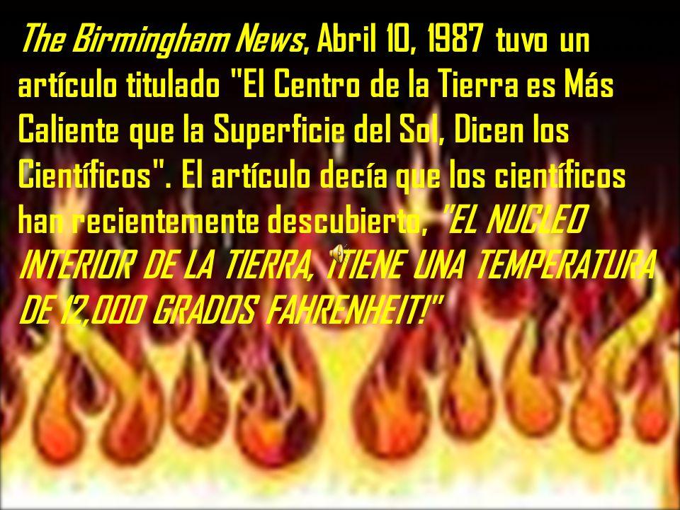 La Biblia es clara ¡El infierno esta en el centro de la Tierra!