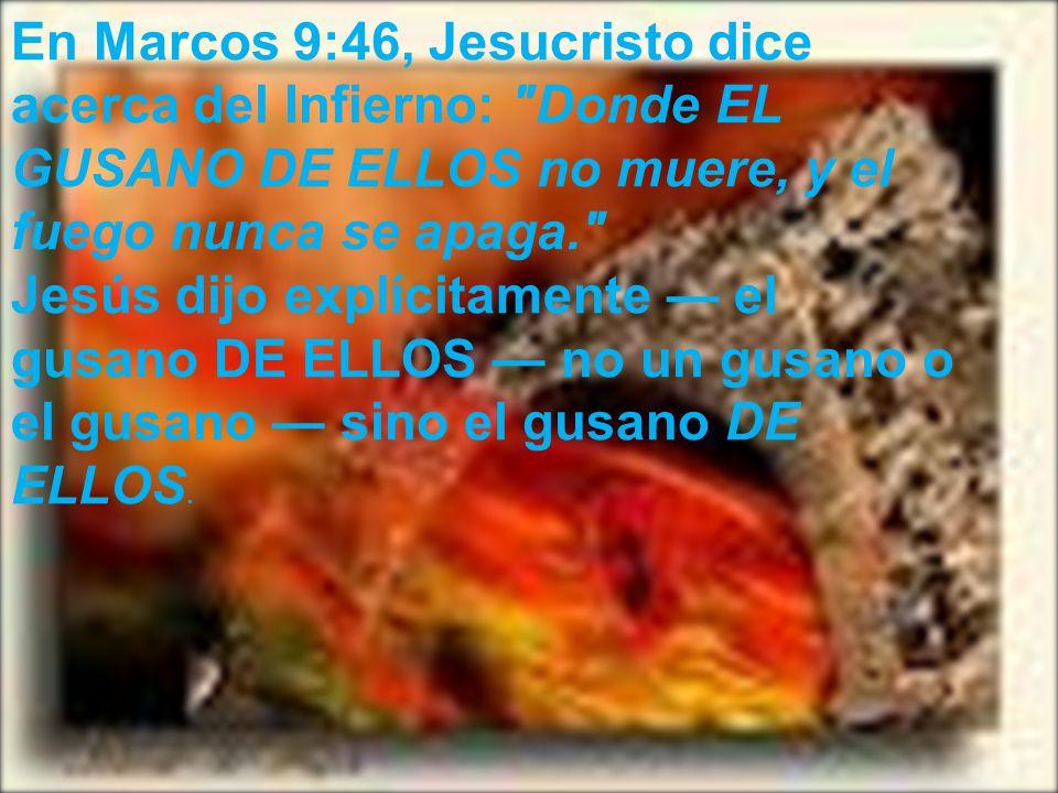 En Números 16, la Biblia da el número de personas, ¡cayendo al Infierno vivas.