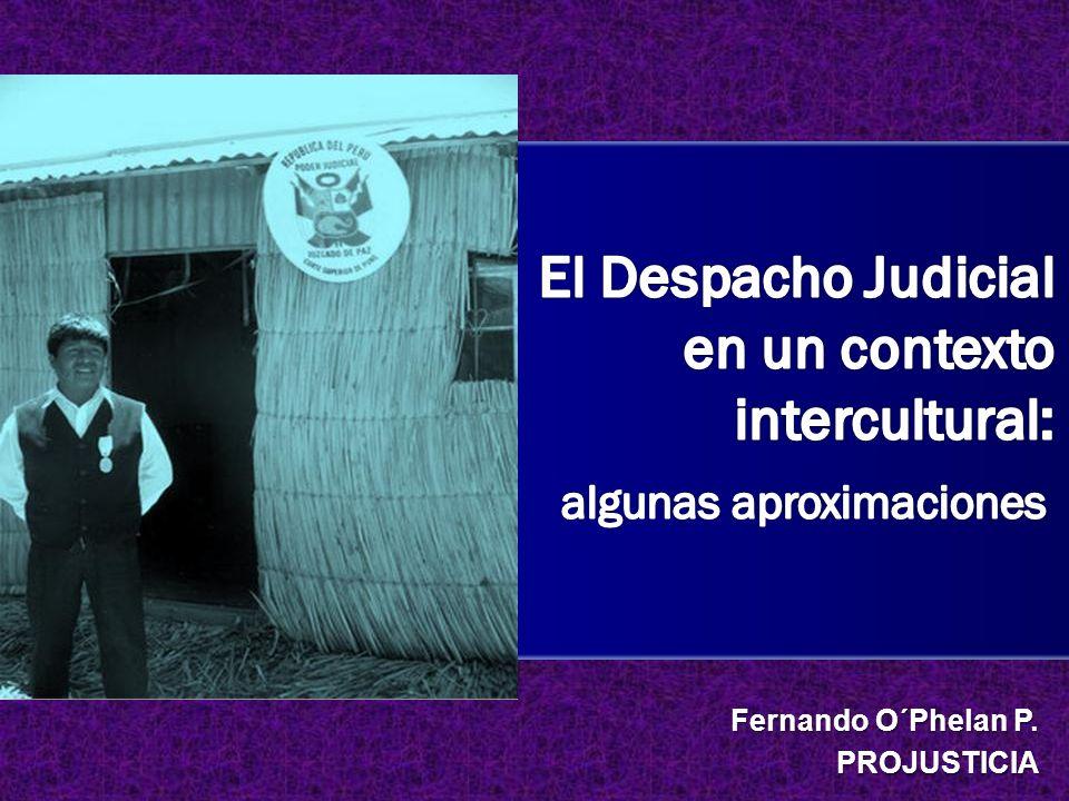 Fernando O´Phelan P. PROJUSTICIA