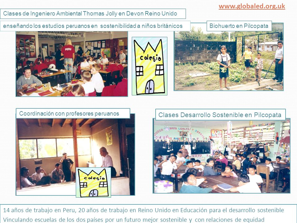 Primer envío de textos desde en Pilcopata Visitando Salinas Visitando Sacsahuaman Haciendo compost San Francisco Exposición arte niños Derechos Humanos en PUCP www.globaled.org.uk Pilcopata
