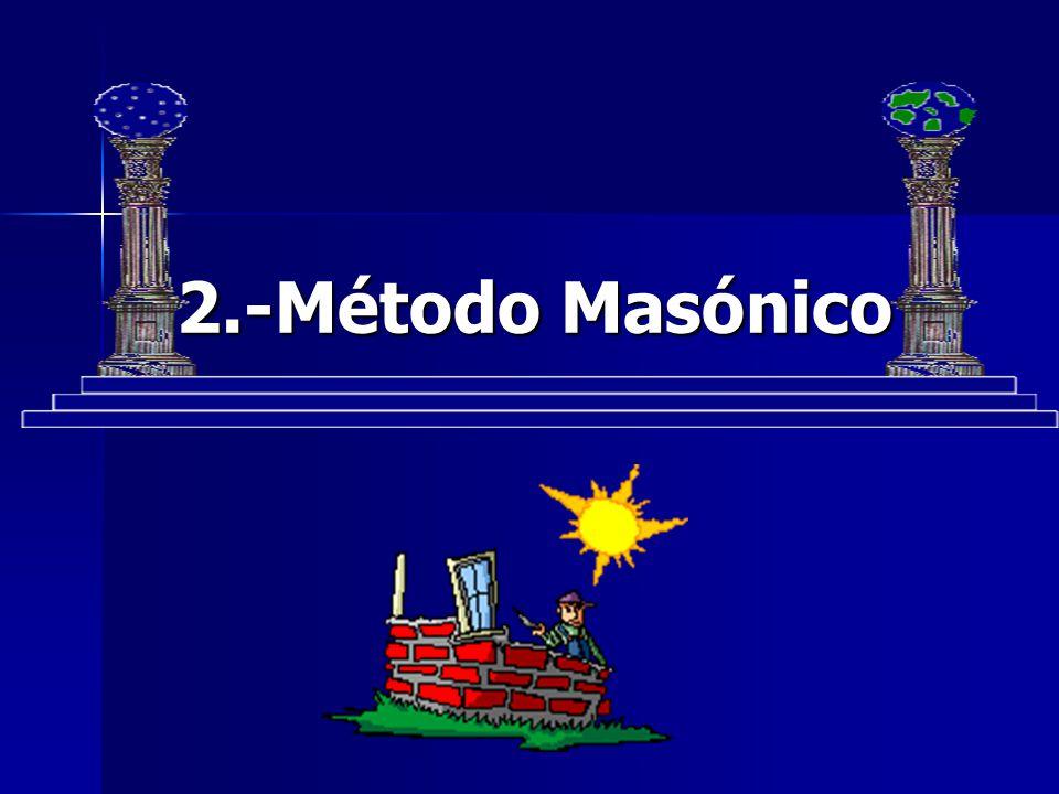 2.-Método Masónico 2.-Método Masónico
