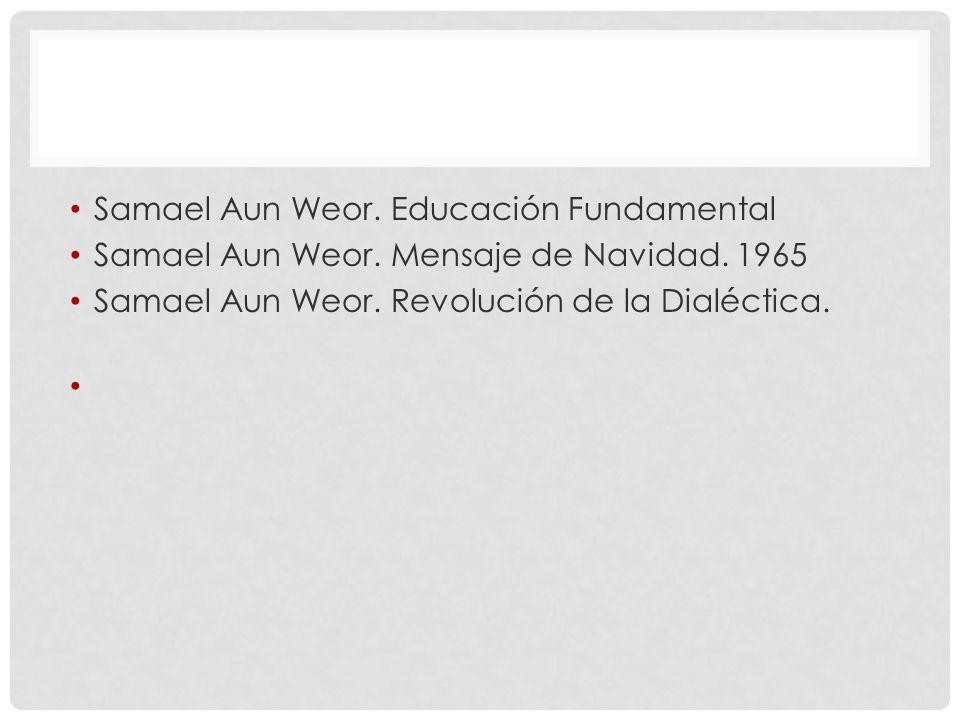 Samael Aun Weor.Educación Fundamental Samael Aun Weor.