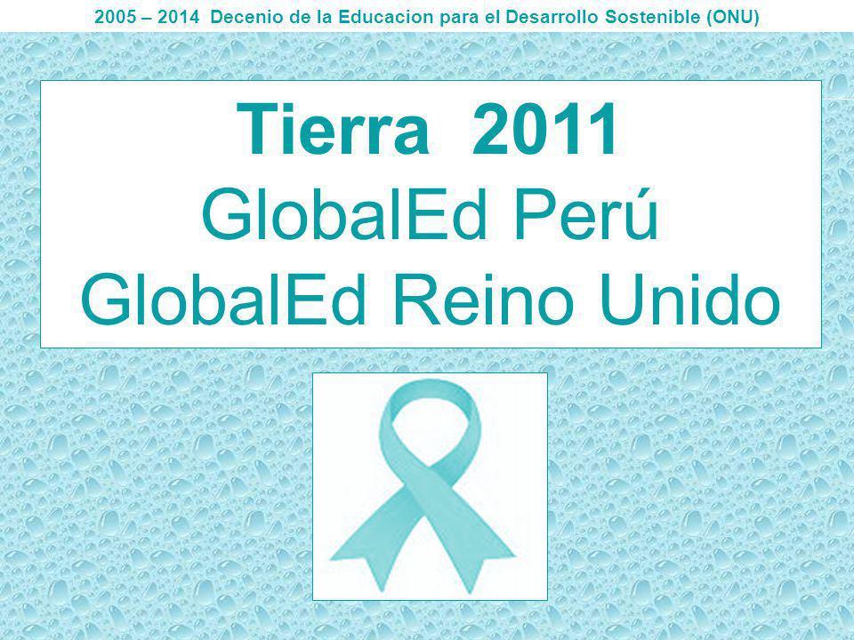 3 Día del reciclador GlobalEd Perú Marzo 2011 Son miles de millones de toneladas de residuos sólidos, aguas efluentes que terminan en los ríos, océanos, impulsemos las brigadas de recicladoras y segregadores de residuos.