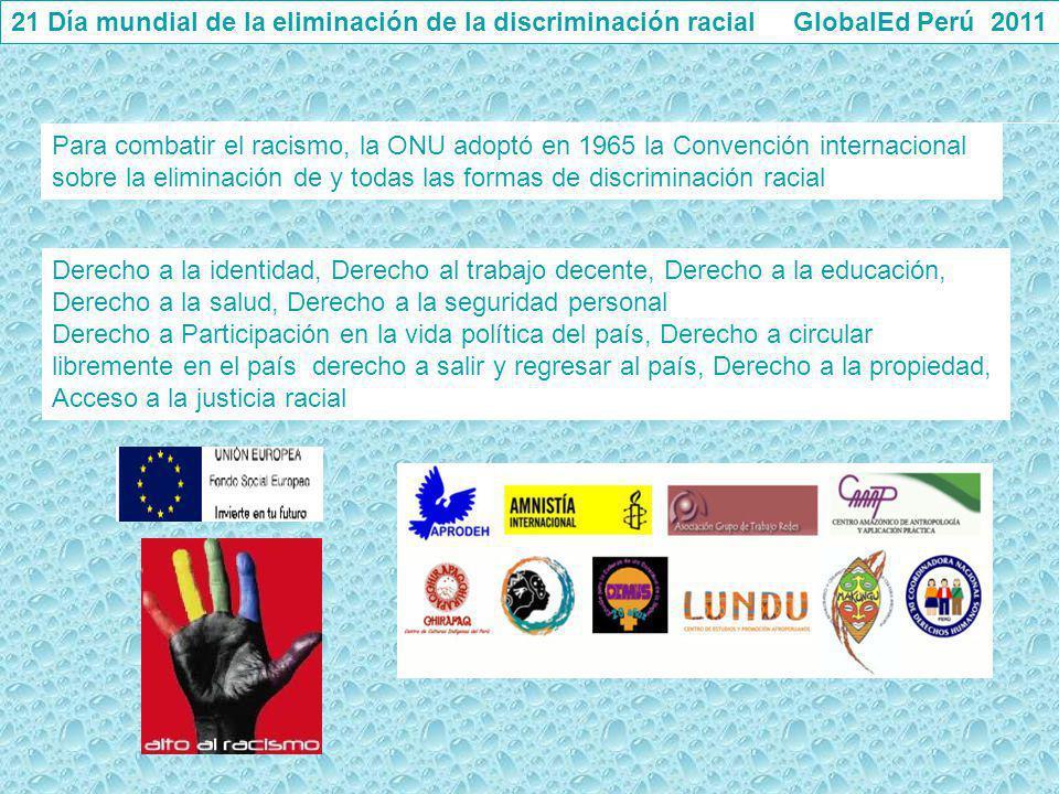 Derecho a la identidad, Derecho al trabajo decente, Derecho a la educación, Derecho a la salud, Derecho a la seguridad personal Derecho a Participació