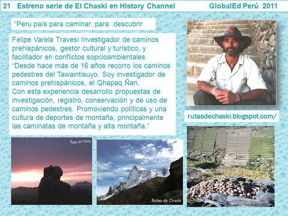 Felipe Varela Travesi Investigador de caminos prehispánicos, gestor cultural y turístico, y facilitador en conflictos sopcioambientales. Desde hace má
