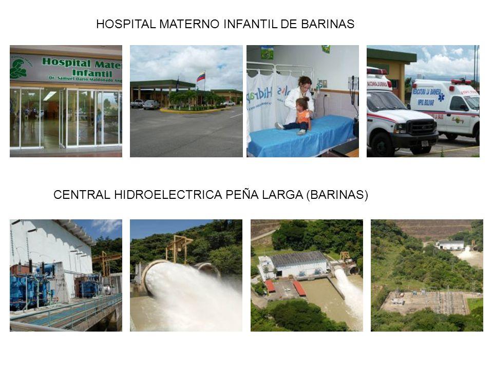 HOSPITAL MATERNO INFANTIL DE BARINAS CENTRAL HIDROELECTRICA PEÑA LARGA (BARINAS)