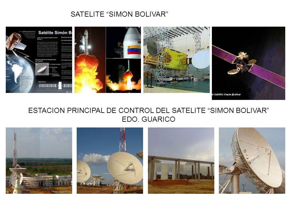 SATELITE SIMON BOLIVAR ESTACION PRINCIPAL DE CONTROL DEL SATELITE SIMON BOLIVAR EDO. GUARICO