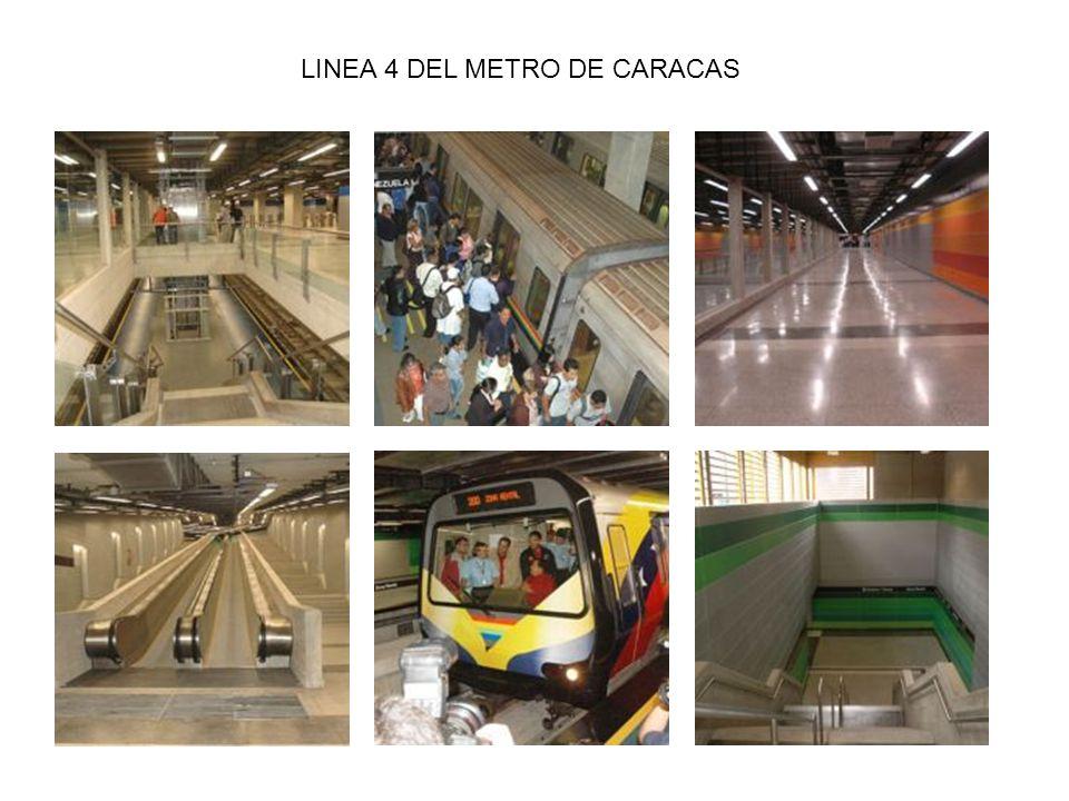 LINEA 4 DEL METRO DE CARACAS