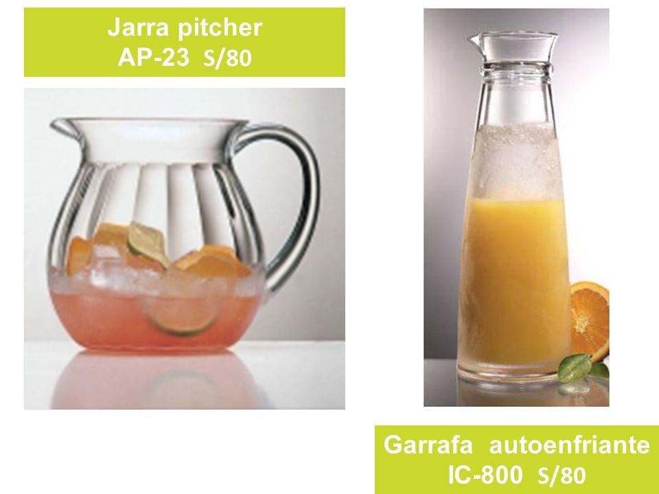 Jarra pitcher AP-23 S/80 Garrafa autoenfriante IC-800 S/80