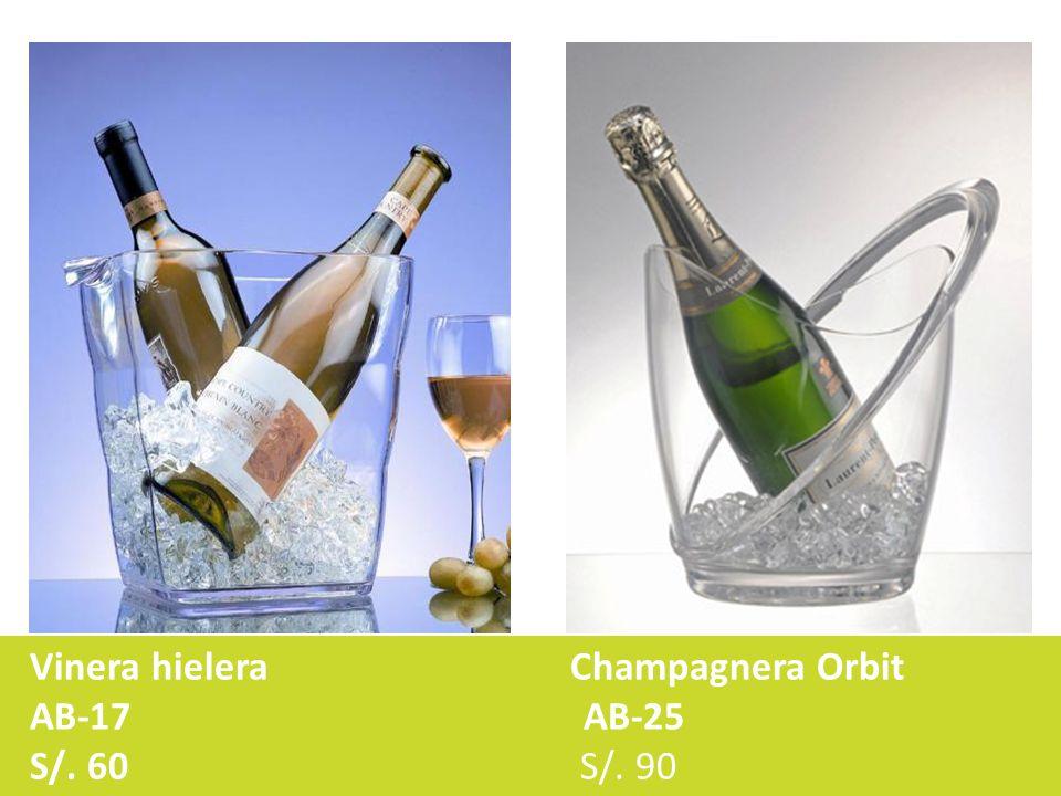 Vinera hielera Champagnera Orbit AB-17 AB-25 S/. 60 S/. 90