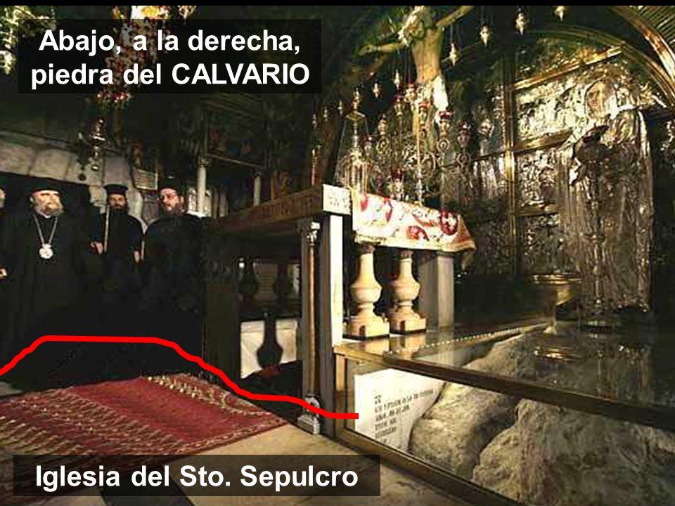 JESÚS VIDA DEL MUNDO Hoy acaba la parte doctrinal sobre la EUCARISTIA-don-PASCUAL Cada EUCARISTIA nos da la oportunidad de comer la CARNE y la SANGRE que Jesús ofreció el Viernes Santo Detalle de la piedra del CALVARIO