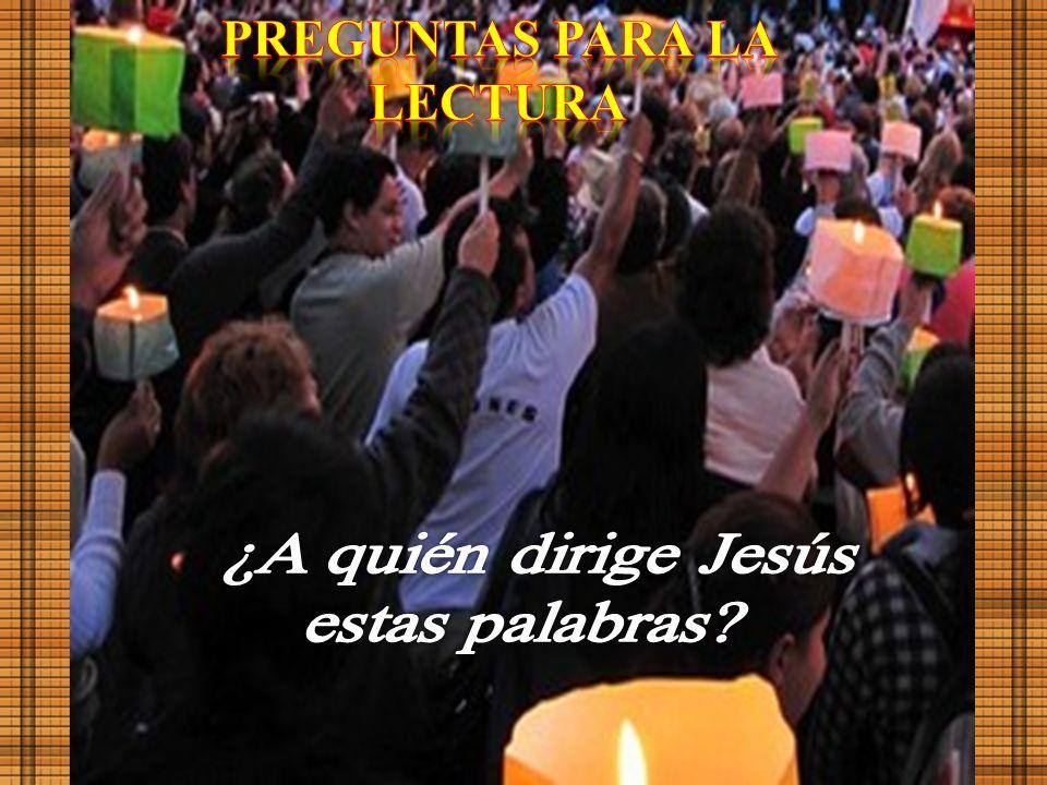 Jerusalén. Explanada del Muro. ( Del evangelio según san Mateo ) Mt 23; 1-12 En aquel tiempo Jesús habló a la gente y a sus discípulos diciendo: «En l