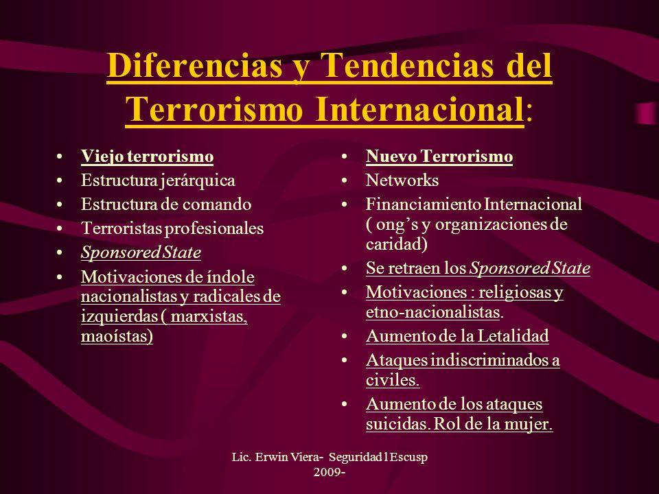 Lic. Erwin Viera- Seguridad l Escusp 2009- Terrorismo como Estrategia de Insurgencia: Atacar en lugares públicos, mediante el uso de la bomba: coche b