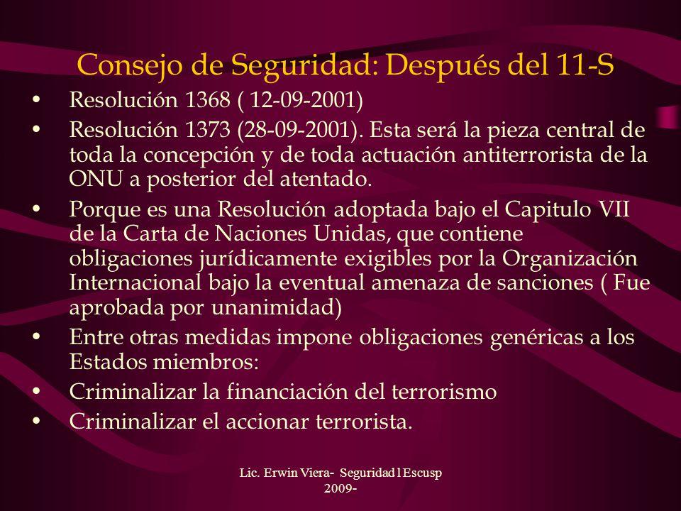 Lic. Erwin Viera- Seguridad l Escusp 2009- Convenciones anti-terroristas Convención a las infracciones y otros actos cometidos a bordo de aeronaves (