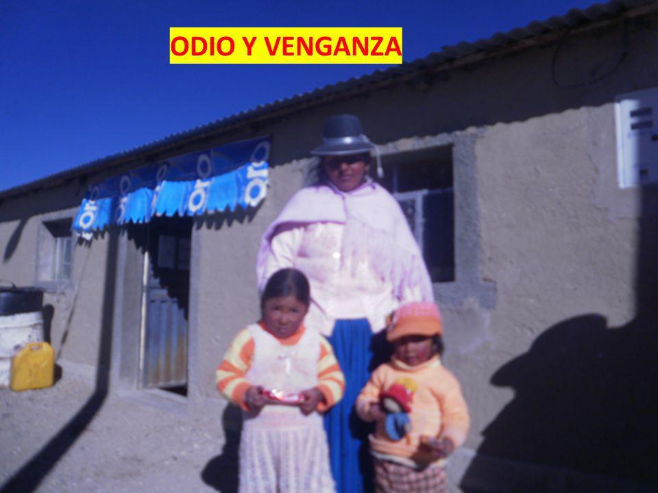ODIO Y VENGANZA