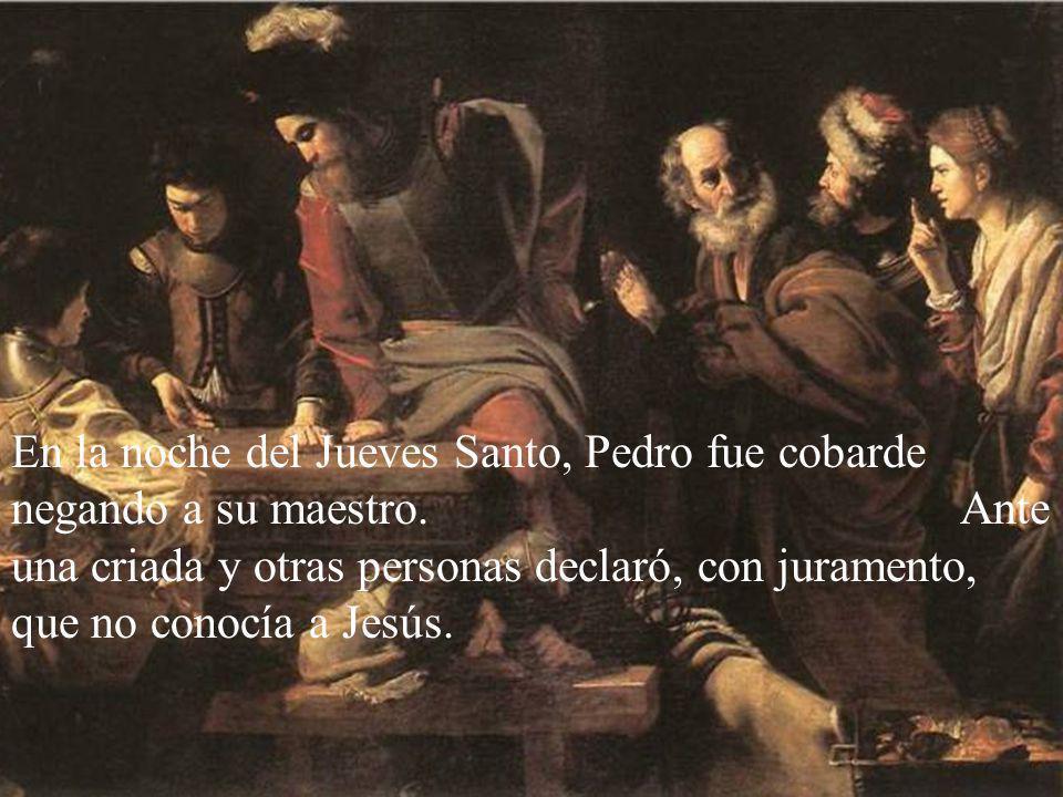 Otro día Jesús le encomendaría a Pedro, como responsable del grupo, cumplir con el deber de pagar el tributo. Así lo hizo Pedro.