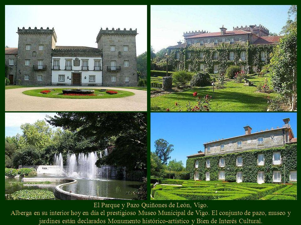 Pazo de Oca, La Estrada, (Pontevedra) Alberga el jardín más antiguo de toda Galicia. En él encontramos especies de árboles autóctonos y exóticos que h