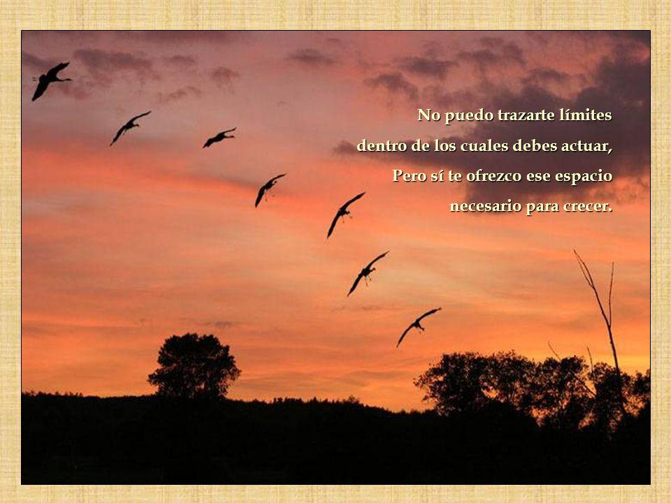 No juzgo las decisiones que tomes en la vida. me limito a apoyarte a estimularte y a ayudarte si me lo pides.