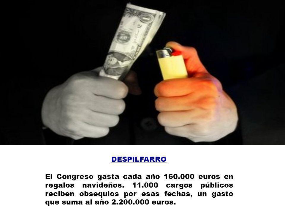 DESCONTROL Es tal en la administración de fondos públicos que en España no hay ni una sola institución que conozca cuántos políticos cobran del Estado