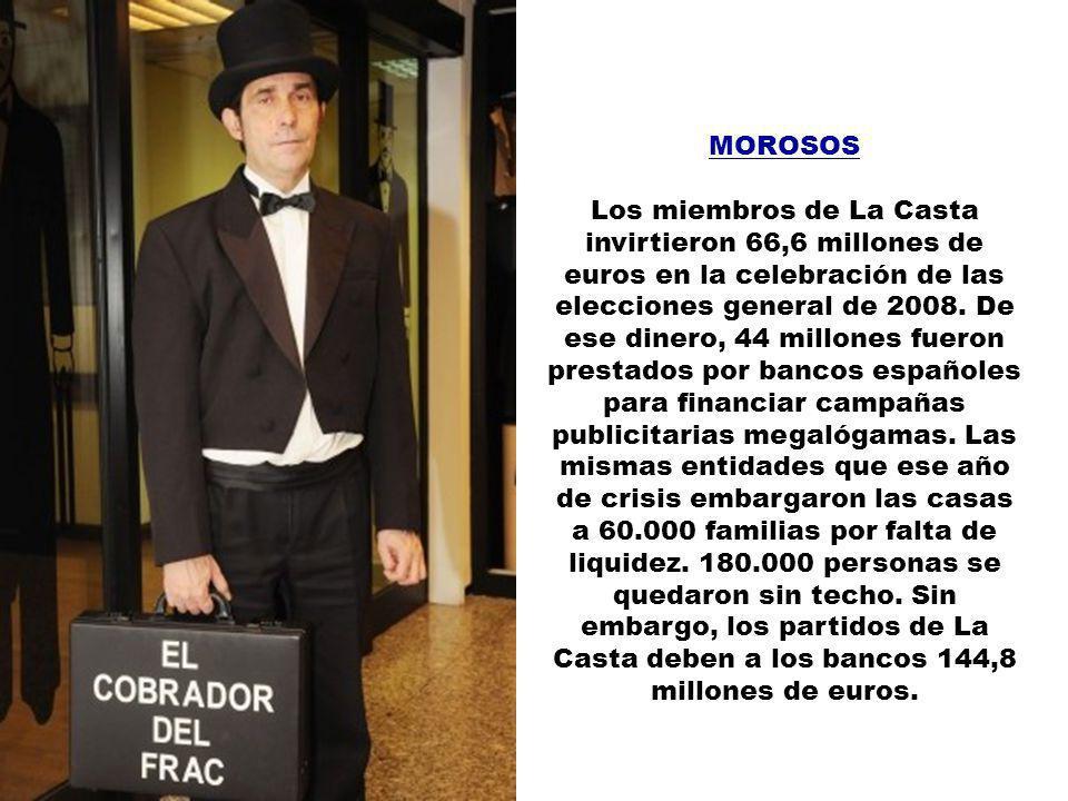 MARISCADAS No hay límite legal para las comidas de representación de los políticos españoles. Tampoco hay fiscalización previa a la hora de comprar ja