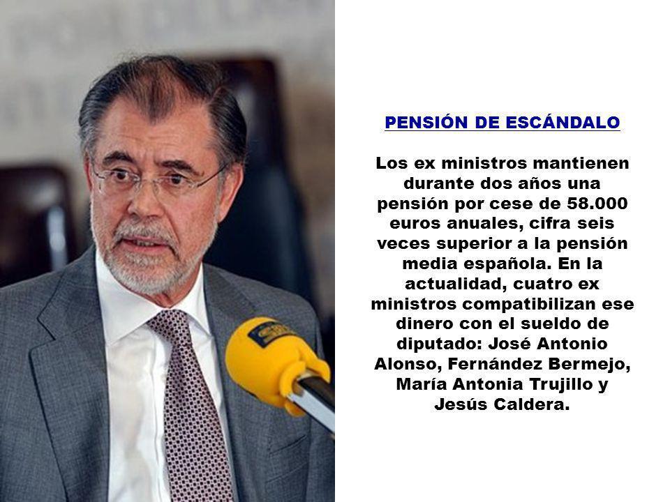 PAJÍN, LEIRE En el 2000 se coronó como la diputada más joven de España. Ocho años después, con 33 de edad, ya tiene derecho a una indemnización de 85.