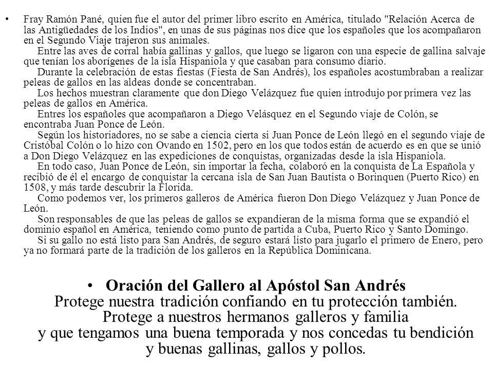 Fray Ramón Pané, quien fue el autor del primer libro escrito en América, titulado