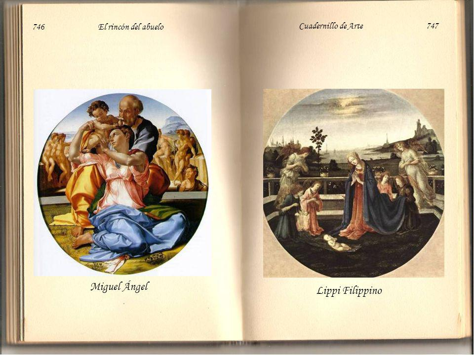Miguel Ángel Lippi Filippino 746 El rincón del abuelo Cuadernillo de Arte 747