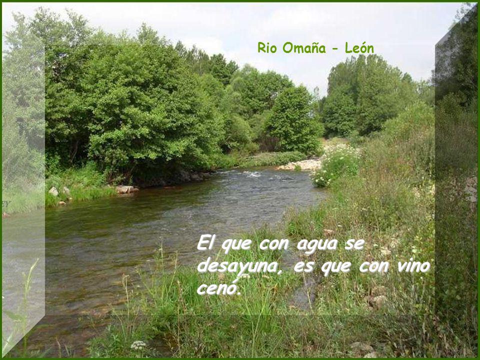Embalse de Riaño - León Norte claro, sur oscuro, aguacero seguro.
