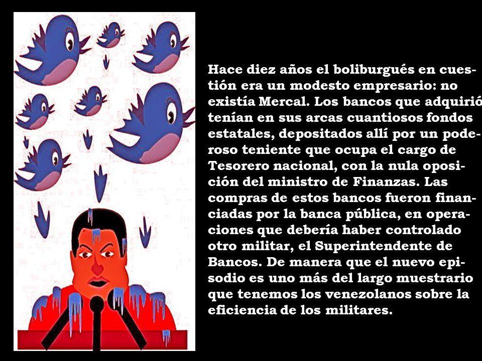 Chávez es un preso de las mafias que ha creado.