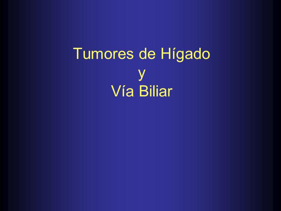 Tumores de Hígado y Vía Biliar